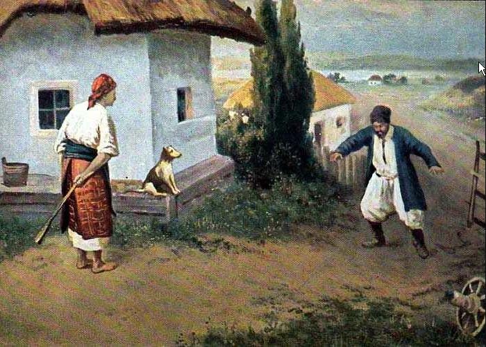 Н.К. Пимоненко «До дома»