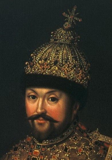 Иоанн Генрих Ведекинд. Портрет царя Михаила Федоровича. 1728 год