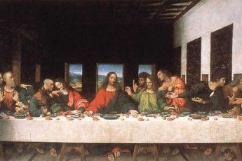 «Тайная вечеря», Леонардо да Винчи, 1495-1498 годы