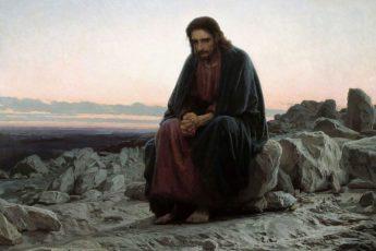 «Христос в пустыне», Иван Крамской, 1872 год