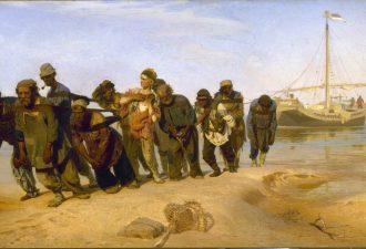 Илья Репин, «Бурлаки на Волге», 1872—1873 год