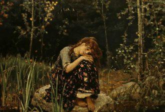«Аленушка», Виктор Васнецов , 1881 год