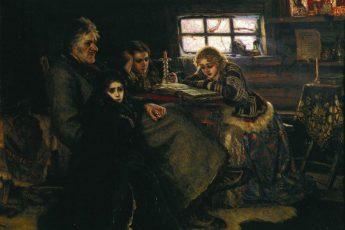 Василий Суриков «Меншиков в Берёзове», 1883 год
