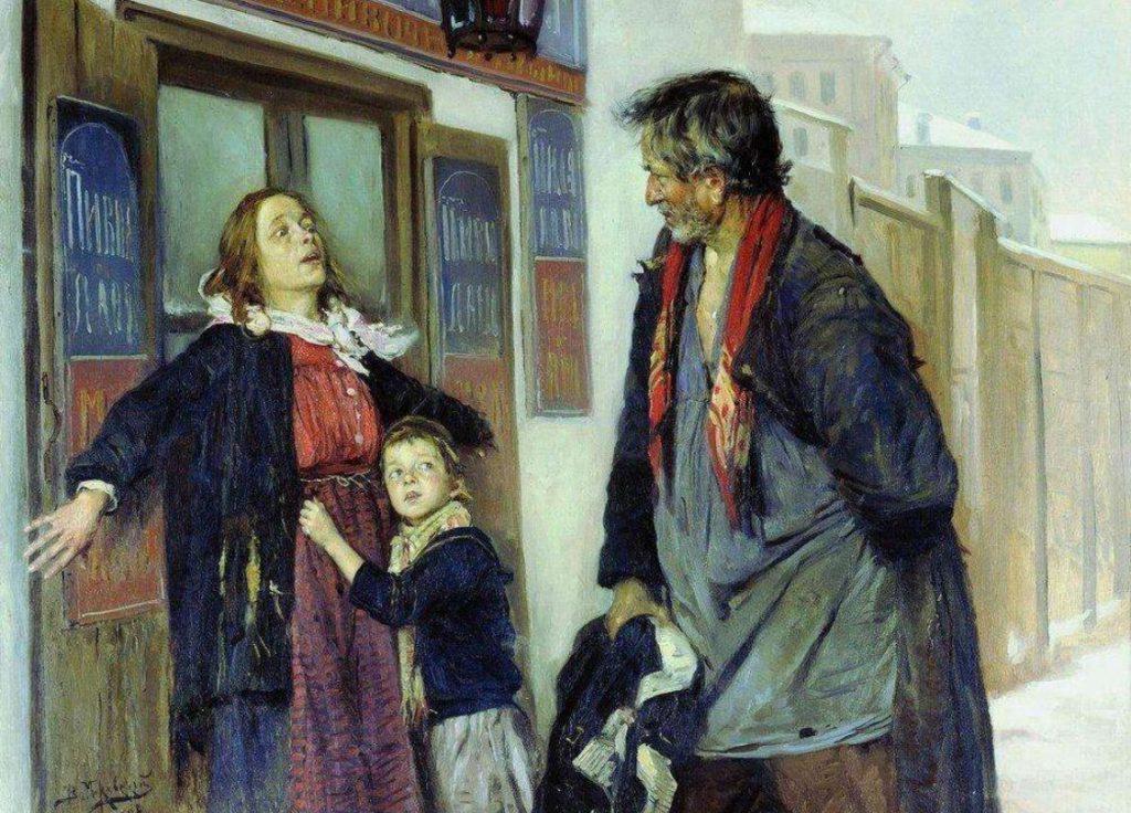 Владимир Маковский «Не пущу!» 1892 год