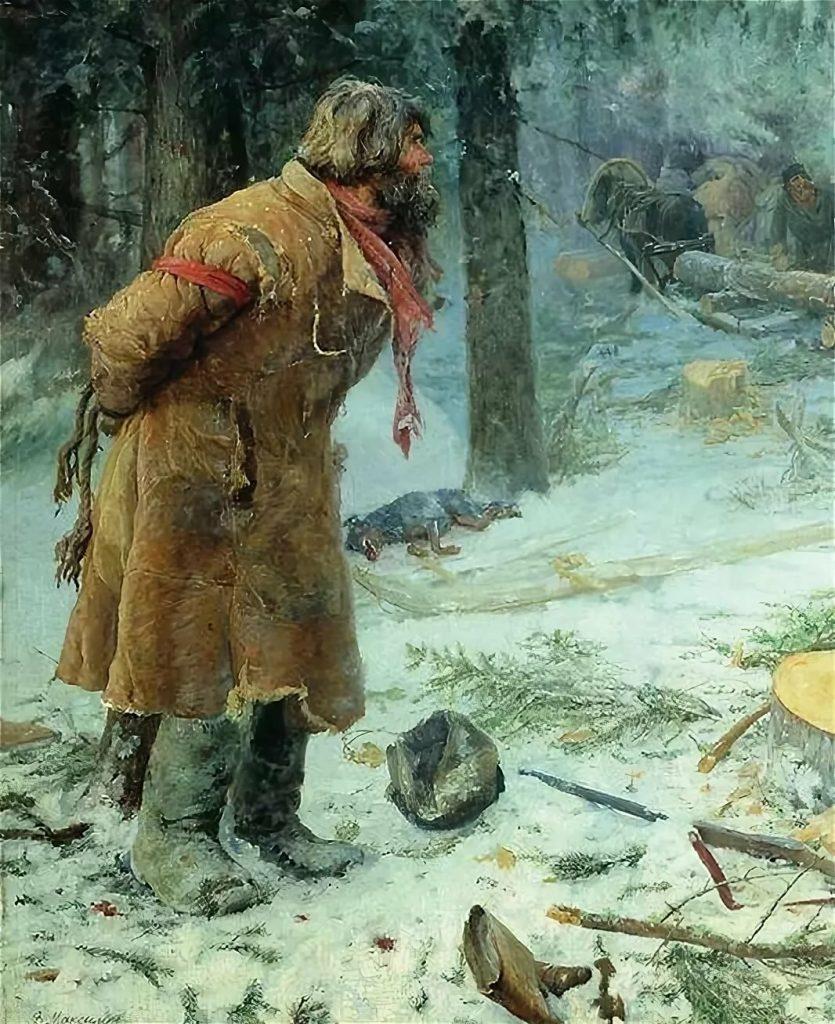 Василий Максимович Максимов «Лесной сторож», 1893 год