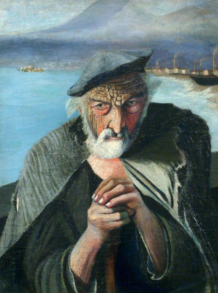 Тивадар Костка Чонтвари «Старый рыбак», 1902 год