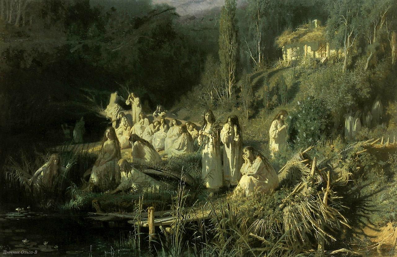 «Русалки», Крамской Иван Николаевич, 1871 год