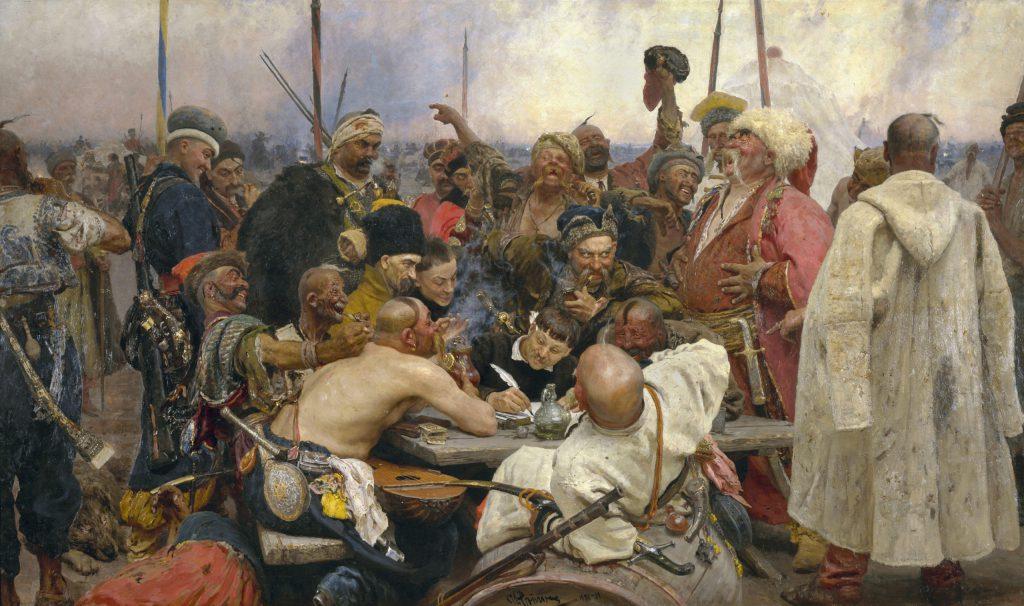 «Запорожцы», Илья Репин, 1880 - 1891 годы