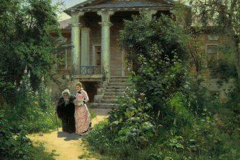 «Бабушкин сад» Василий Поленов, 1878 год