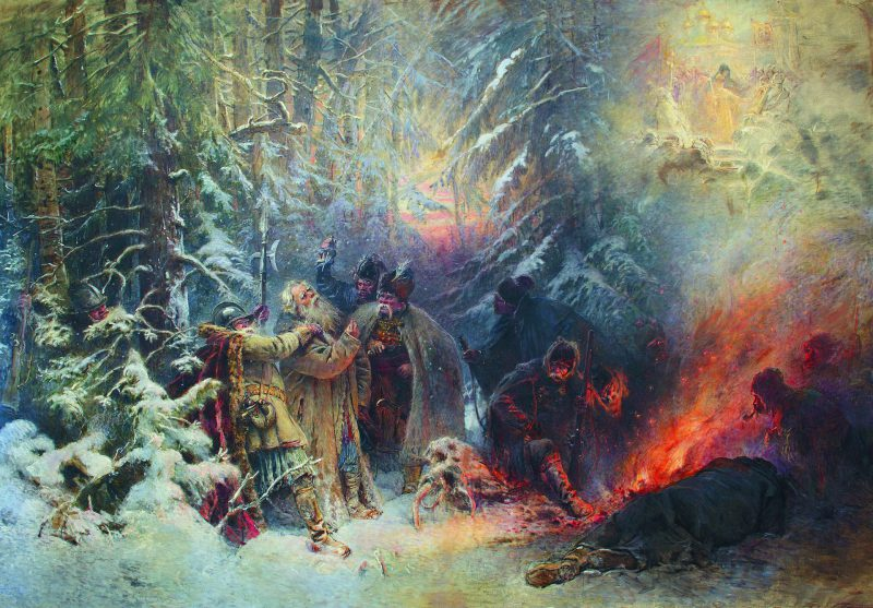 Константин Маковский «Иван Сусанин», 1914 год
