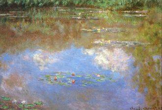 Клод Моне «Водяные лилии», 1903 год