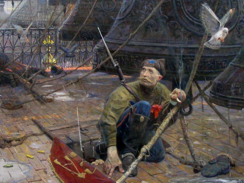 Павел Рыженко, триптих «Покаяние», 2004 год «Колокол»