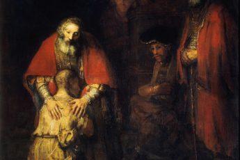 «Возвращение блудного сына» Рембрандт ван Рейн, 1666—1669 г.