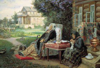 «Всё в прошлом», Максимов Василий 1889 год. Фото: wikipedia.org