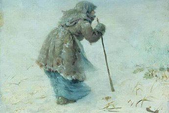 Максимов Василий Максимович «Добредет ли?», 1896 год