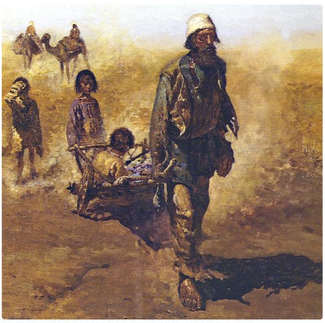 Сергей Иванов «Обратные переселенцы», фрагмент