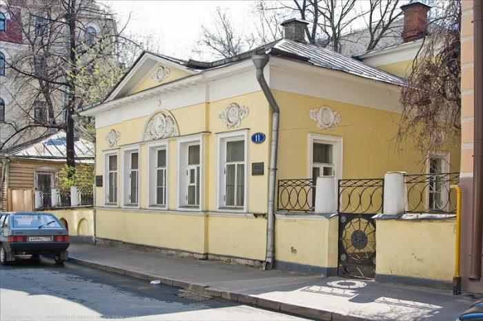 Особняк Кузнецова в Мансуровском переулке в наши дни