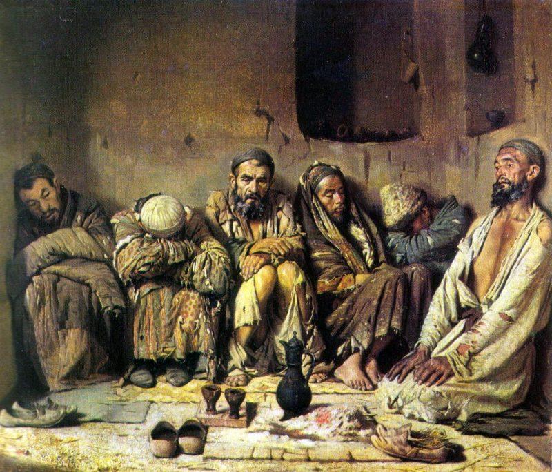 "Василий Верещагин ""Опиумоеды"", 1867 год"