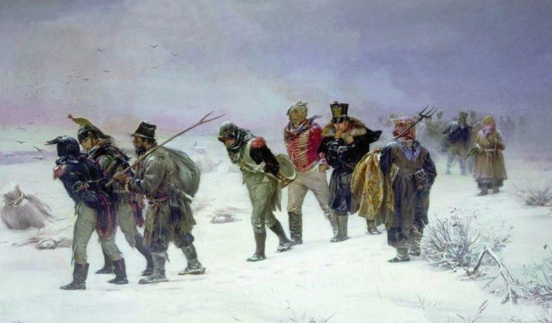 И. М. Прянишников «В 1812 году», 1874 год