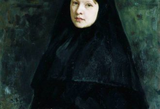 И. Е. Репин «Монахиня», 1878 год