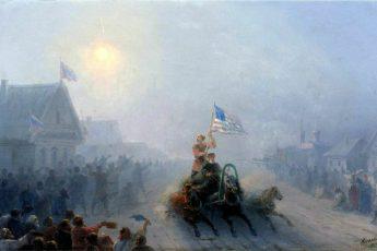 И. К. Айвазовский «Раздача продовольствия», 1892 год