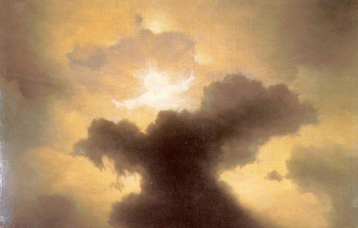 Иван Айвазовский «Хаос. Сотворение мира», фрагмент