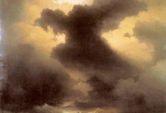 Иван Айвазовский «Хаос. Сотворение мира», 1841 год