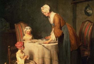 Жан Батист Симеон Шарден «Молитва перед обедом», 1744 год