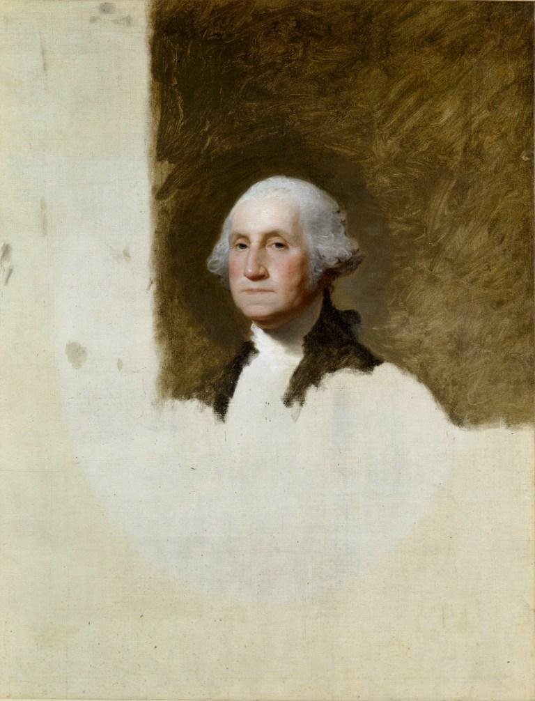 Гилберт Стюарт «Джордж Вашингтон» или «Атенеумский портрет», 1796 год