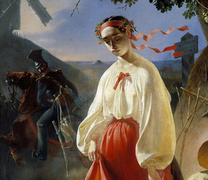 Тарас Шевченко «Катерина», 1842 год , фрагмент