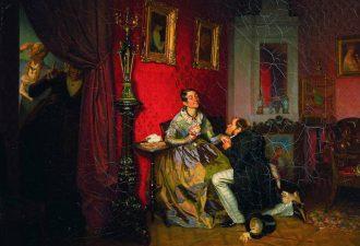 Павел Федотов «Разборчивая невеста», 1847 год
