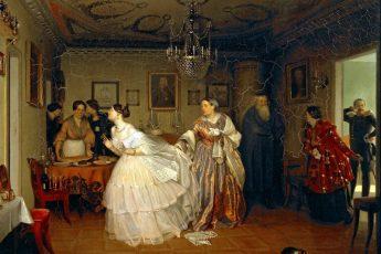 Павел Федотов «Сватовство майора», 1848 год