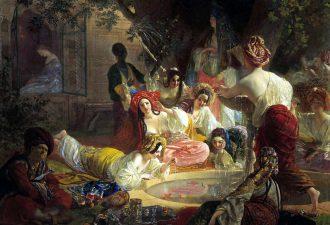 Карл Брюллов «Бахчисарайский фонтан», 1849 год