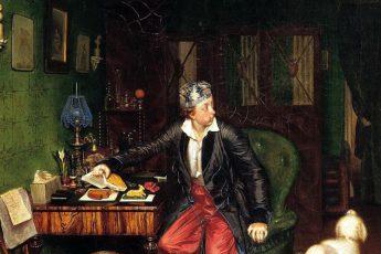 Павел Федотов «Завтрак аристократа» («Не в пору гость»)1849-1850