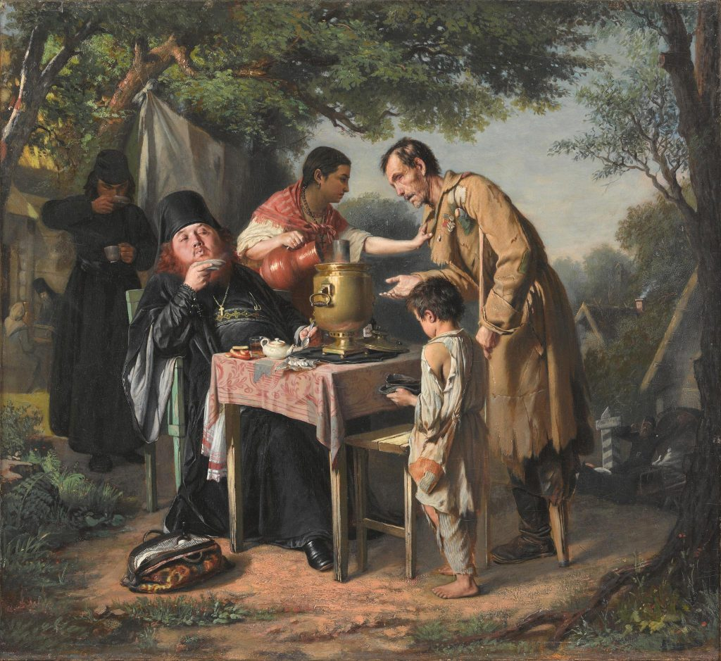 Василий Перов «Чаепитие в Мытищах», 1862 год