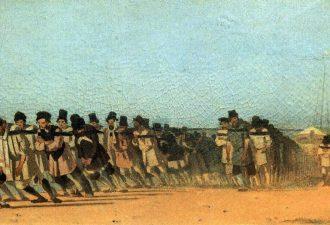 Василий Верещагин «Бурлаки», 1866 год