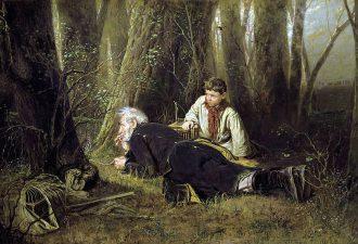 Василий Перов «Птицелов», 1870 год