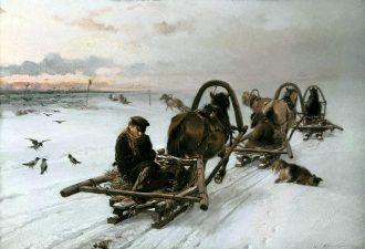 Илларион Михайлович Прянишников «Порожняки»,1872 год