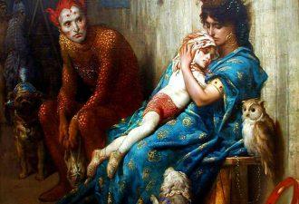 Поль Гюстав Доре «Бродячие артисты», 1874 год