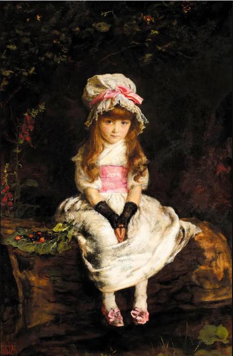 Джон Эверетт Милле «Спелая вишня», 1879 год