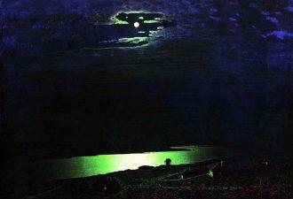 Архип Куинджи «Лунная ночь на Днепре», 1880 год