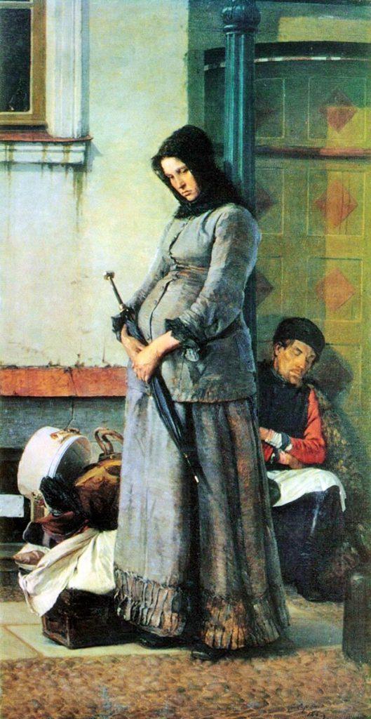 Ярошенко Николай «Выгнали», 1883 год