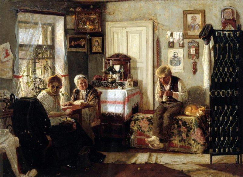 Михаил Нестеров «Домашний арест», 1883 год