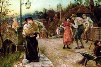 Алиса Мэри Хейверс «Красавица из деревни», 1883 год