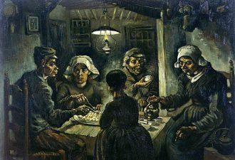 Винсент Ван Гог «Едоки картофеля», 1885 год