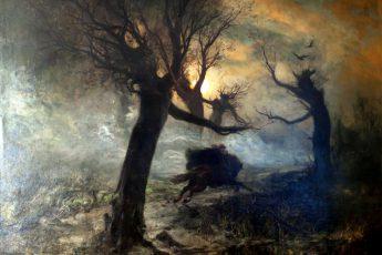 Юлий Юльевич Клевер «Лесной царь», 1887 год