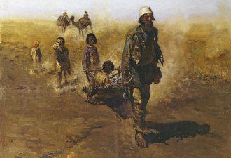 Сергей Иванов «Обратные переселенцы», 1888 год