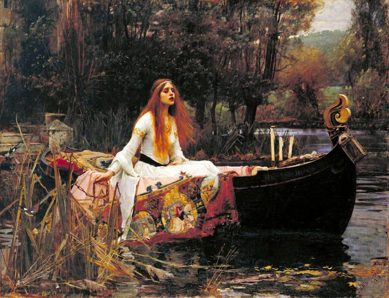 Джон Уильям Уотерхаус «Леди из Шалот», 1888 год