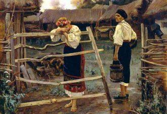 Богданов Николай Григорьевич «Запоздала», 1889 год