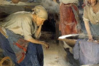 Абрам Ефимович Архипов «Прачки», 1897 - 1901 годы